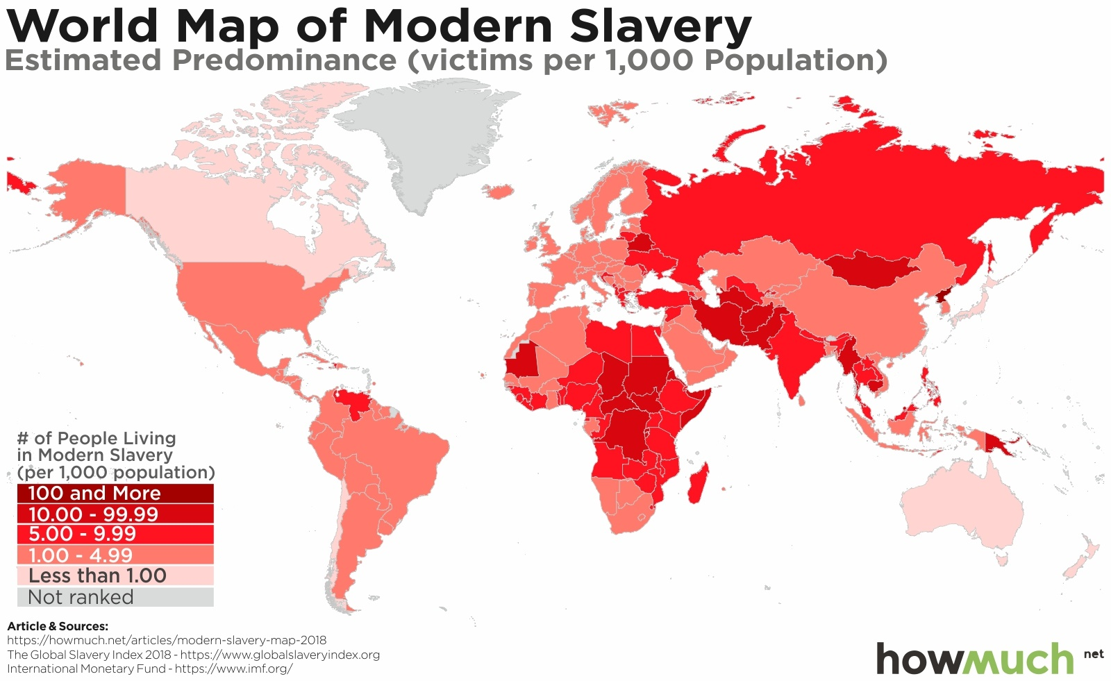 Modern Map Of The World.These Maps Reveal The Secret World Of Modern Slavery