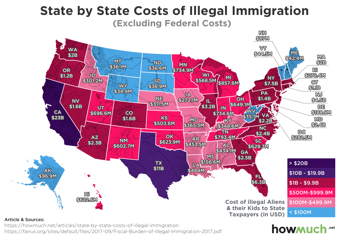 the effect of illegal immigration Facts about immigration and the us economy: answers to frequently asked  see giovanni peri, the impact of immigrants in  illegal immigrants are.