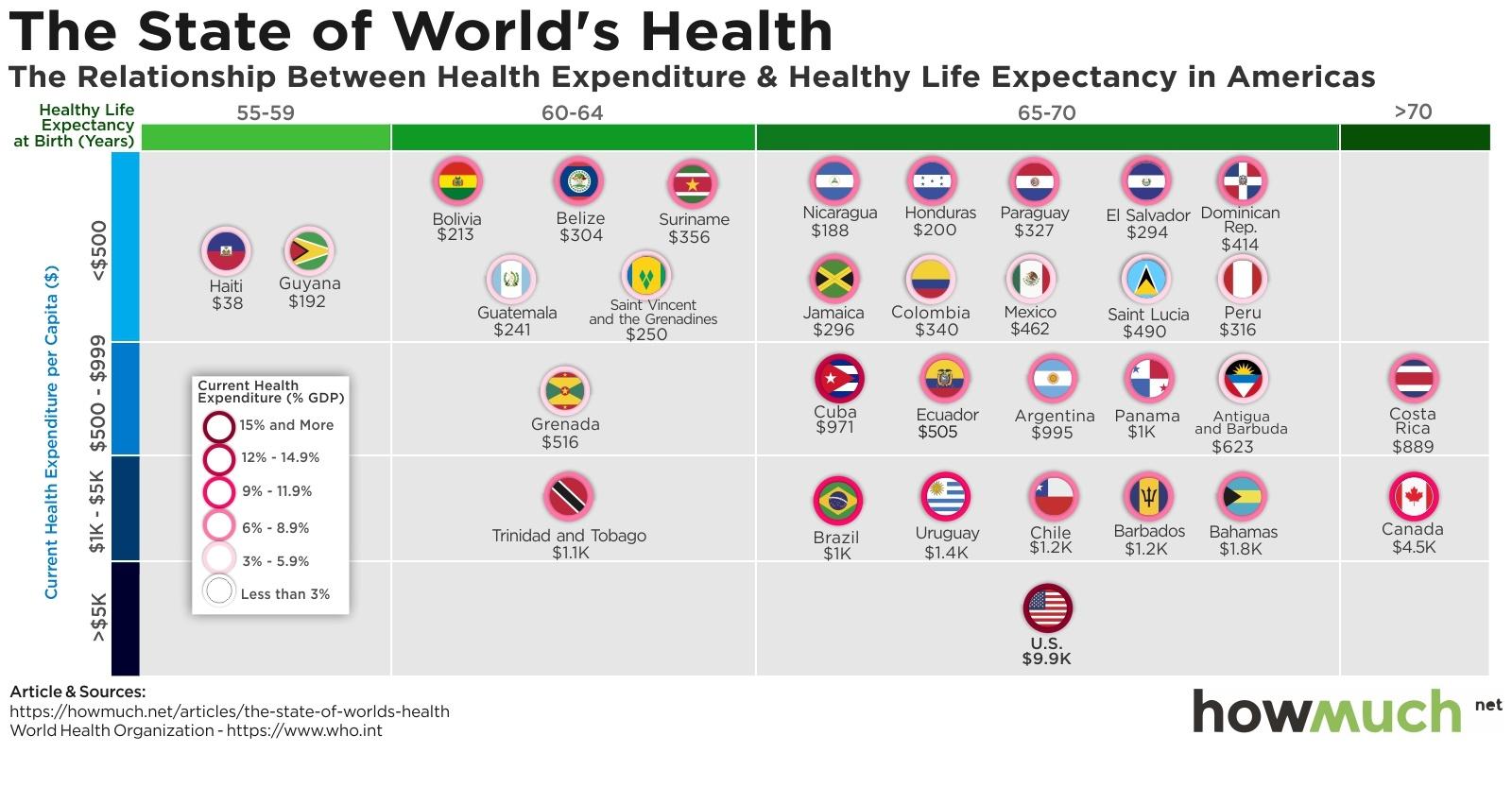 Visualizing the State of Health Around the World