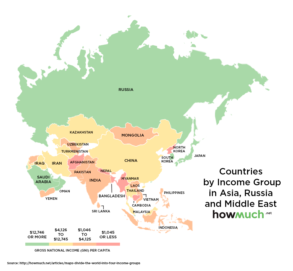 Classement Des Pays Les Plus Riches Et Pauvres Au Monde