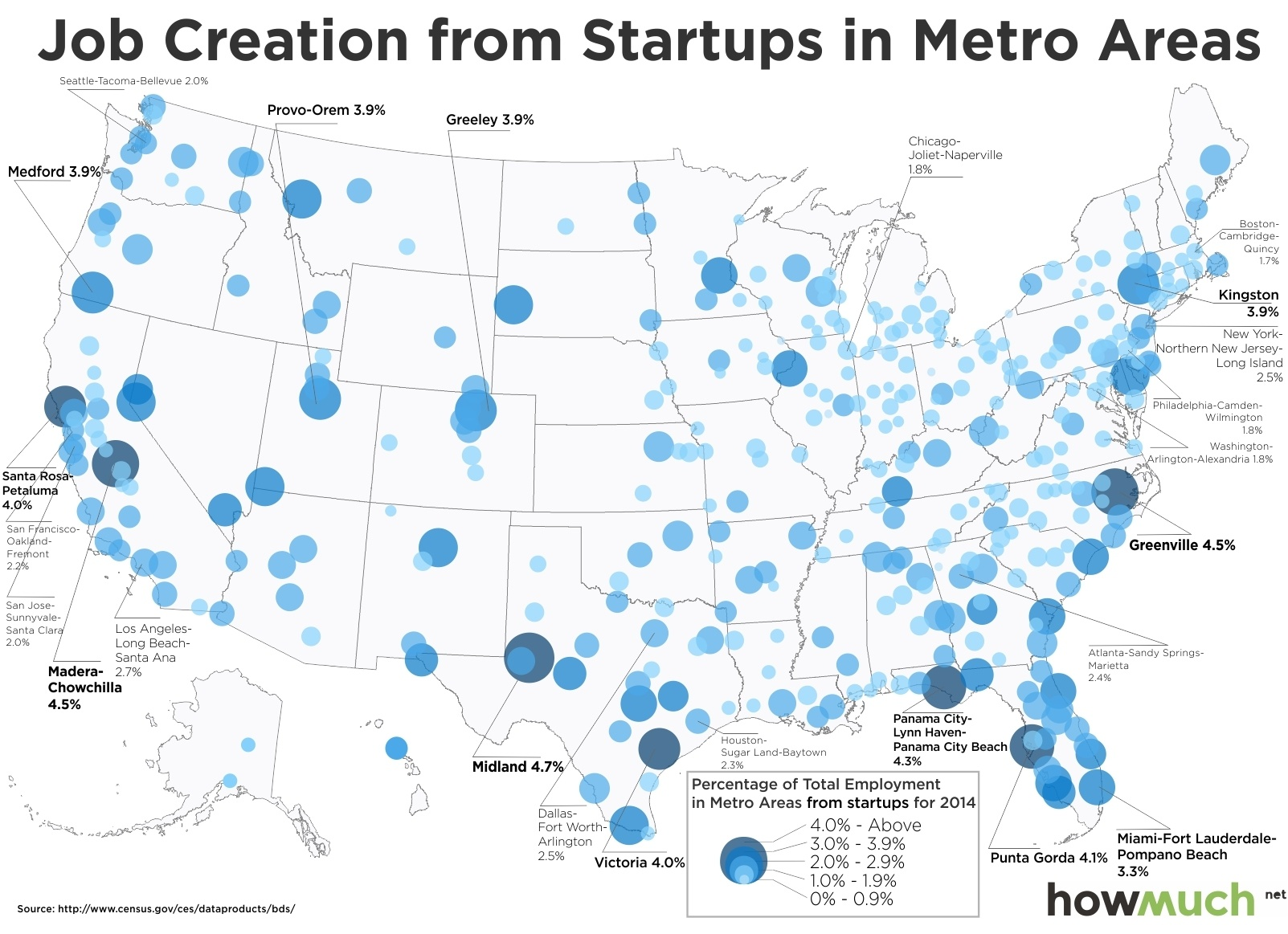 San Francisco is Not the Queen of Startup Land this Map Shows Why