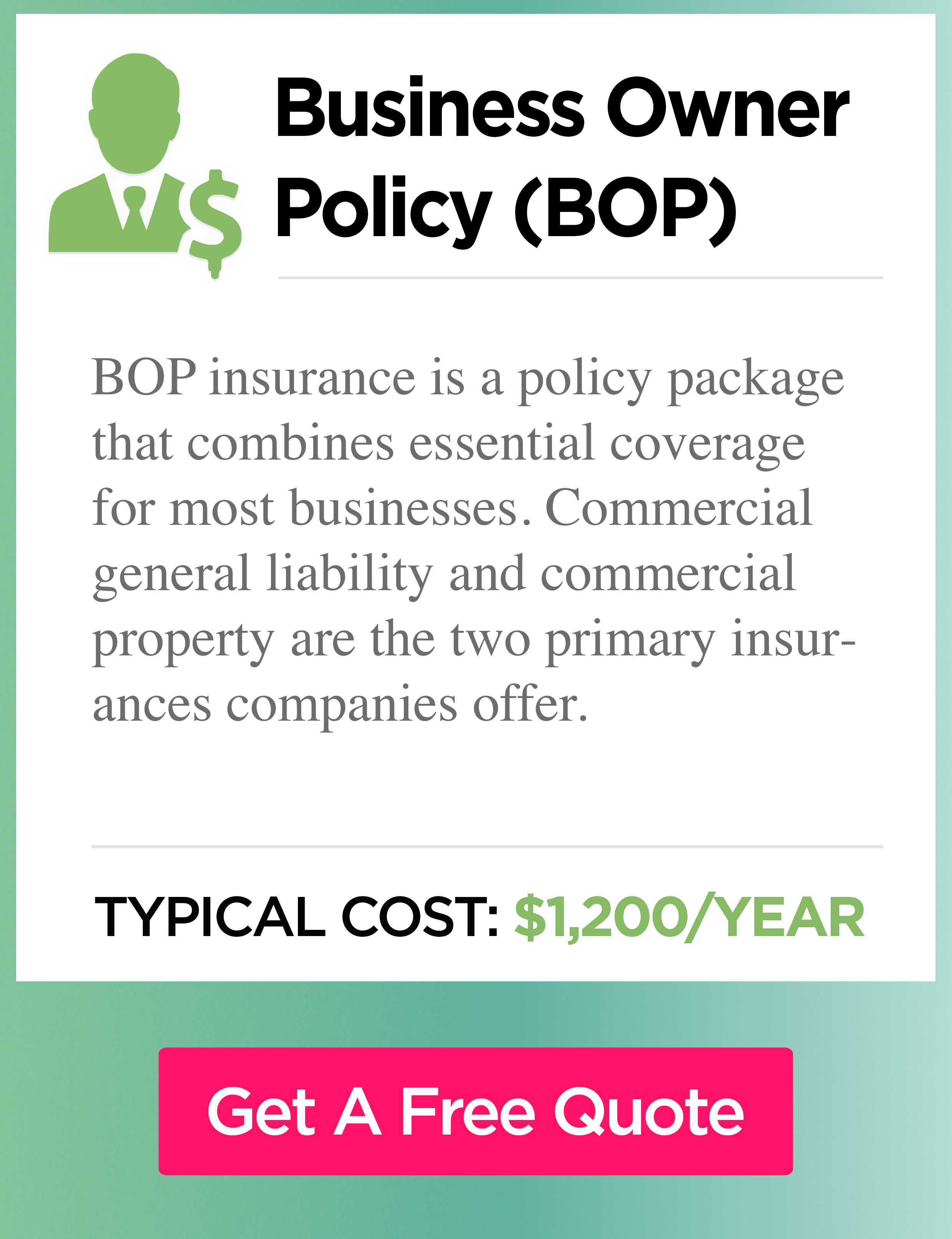 Business owners insurance cost