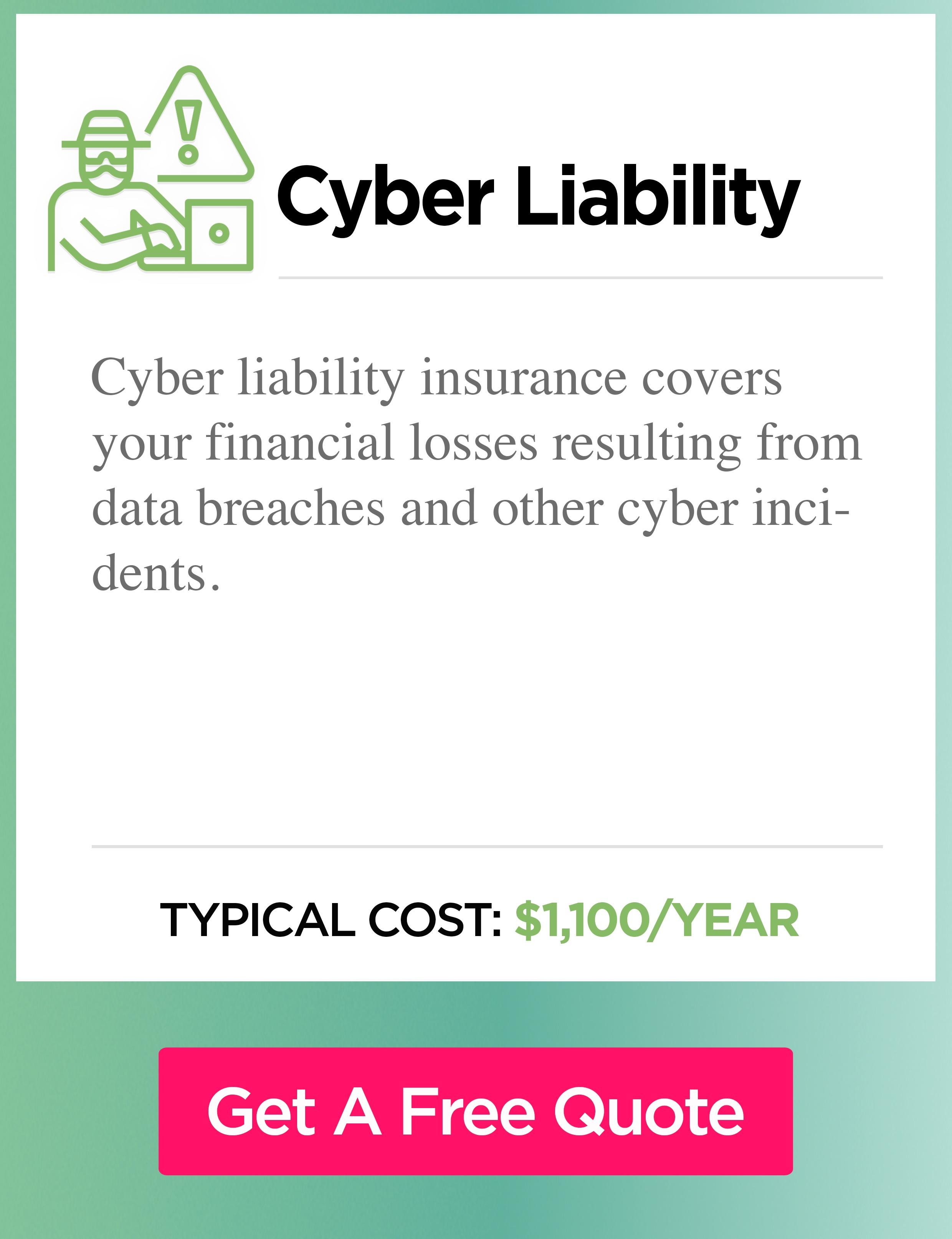 Cyber liability cost