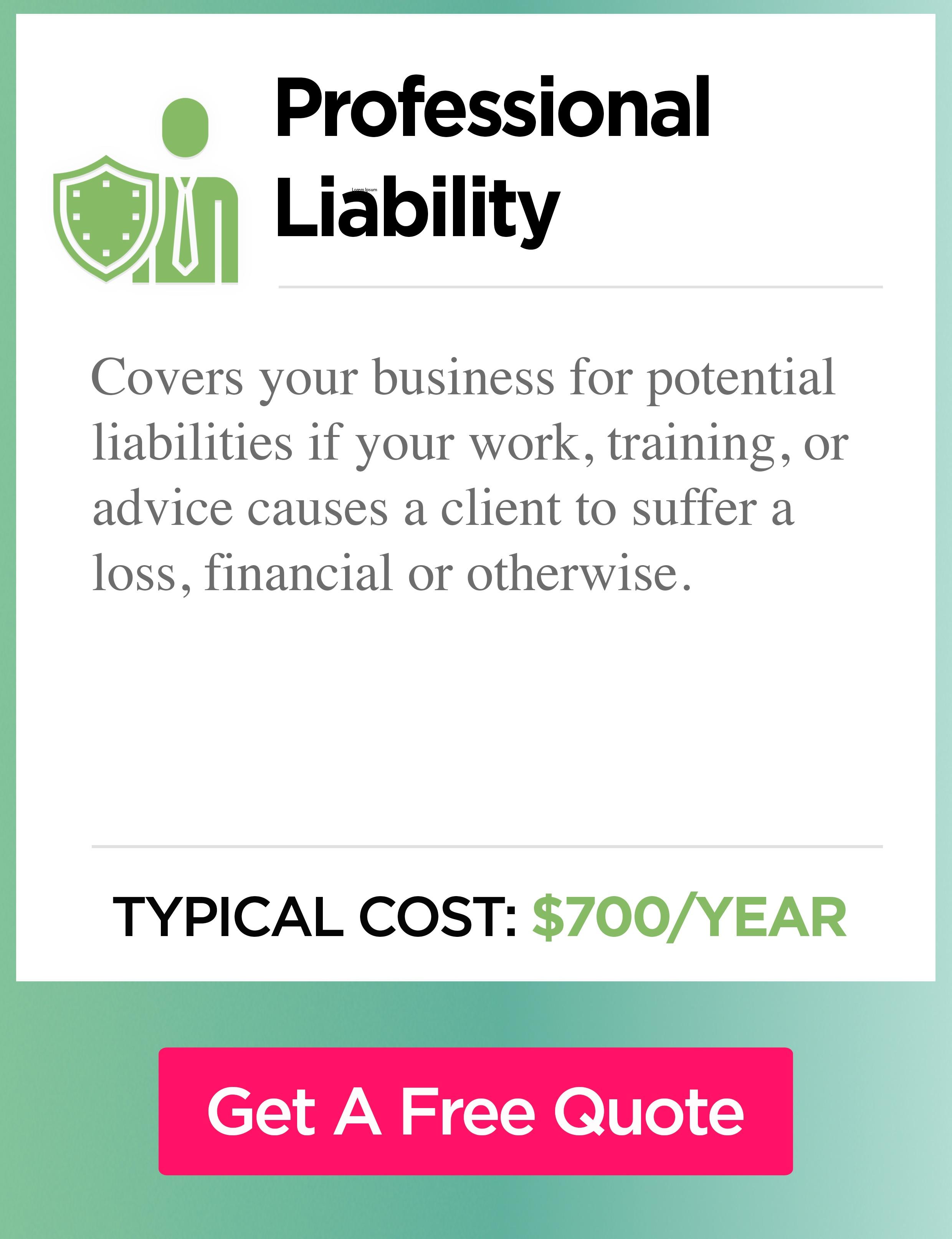 Professional liability